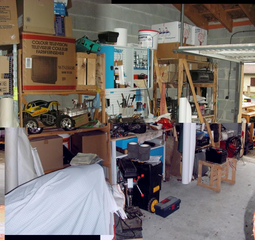 [Info] Montrez votre atelier, votre piece ou vous tripotez et entreposez vos RC en tout genre... Garage